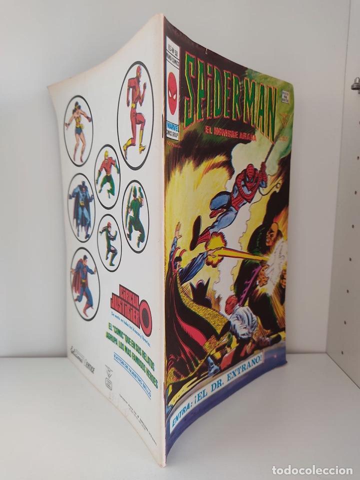 Cómics: CÓMIC SPIDERMAN EL HOMBRE ARAÑA V.3 Nº 53 ENTRA: ¡EL DR. EXTRAÑO! EDICIONES VERTICE MARVEL COMICS - Foto 2 - 267406099