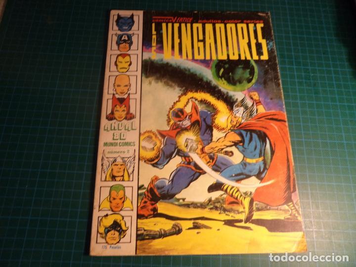 ANUAL 80. Nº 2. LOS VENGADORES. VERTICE (Tebeos y Comics - Vértice - Vengadores)
