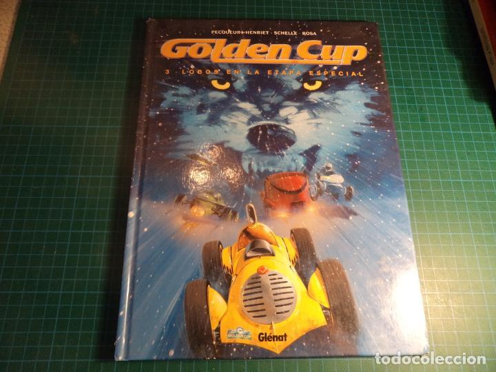 GOLDEN CUP. Nº 3. LOBOS EN LA ETAPA ESPECIAL. GLENAT (Tebeos y Comics - Vértice - Vengadores)