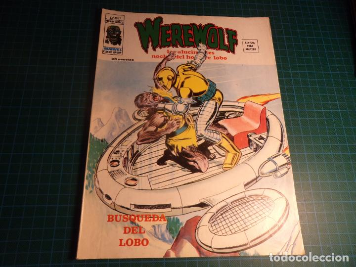 WEREWOLF VOL 2. N°17. VERTICE. (Tebeos y Comics - Vértice - Otros)