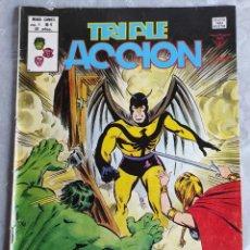 Cómics: COMIC: TRIPLE ACCION - LOS DEFENSORES - SE VENDE UN PLANETA POCO USADO - MARVEL. Lote 267512104