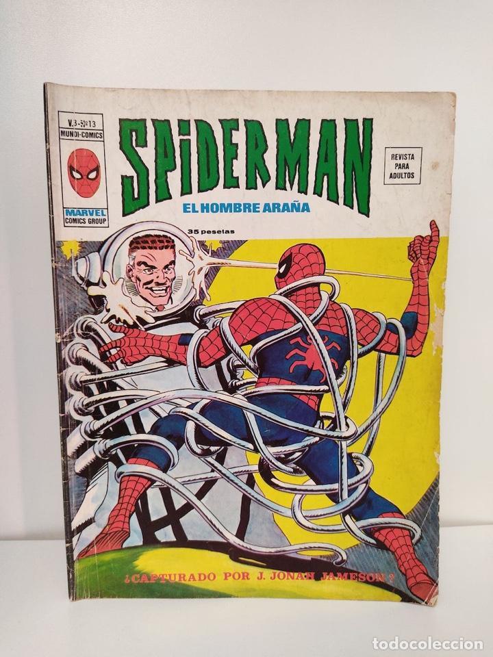 SPIDERMAN VOLUMEN 3 NUMERO 13 EDICIONES VERTICE (Tebeos y Comics - Vértice - V.3)