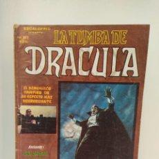 Cómics: LA TUMBA DE DRÁCULA VOLUMEN 1 NUMERO 2 EDICIONES VERTICE. Lote 267613089