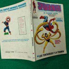 Cómics: SPIDERMAN EL HOMBRE ARAÑA Nº 21. TACO. VERTICE. EN MUY BUEN ESTADO CON 128 PAGINAS.. Lote 267731569