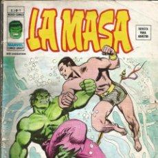 Cómics: LA MASA V3 - Nº 9 ¡CHOQUE DE TITANES! VÉRTICE - 1975. Lote 267851684
