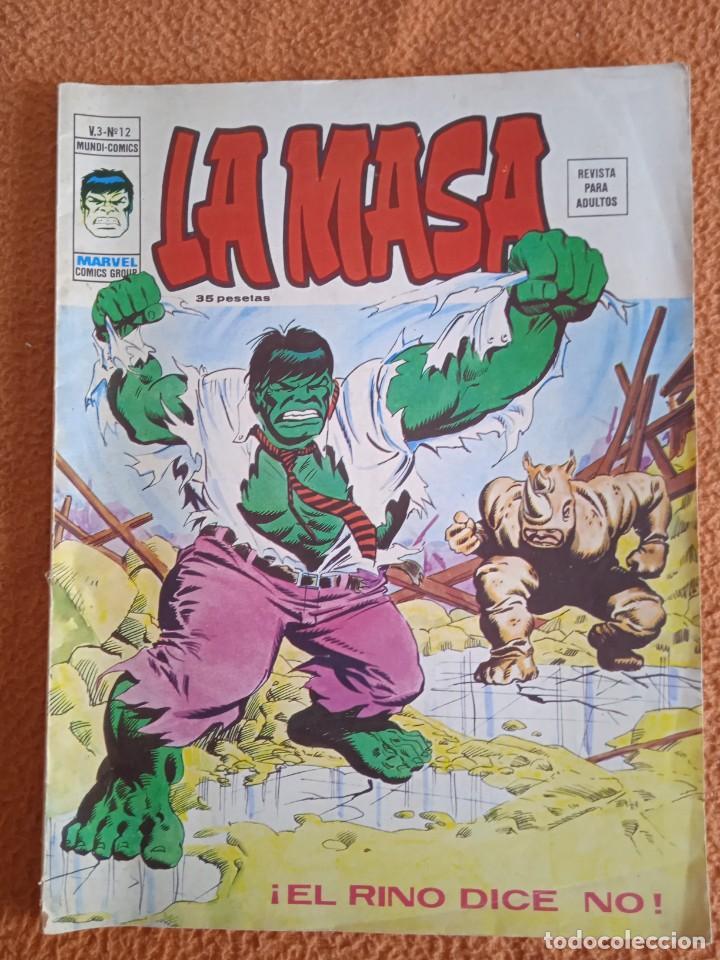 LA MASA V3 NUMERO 12 MUNDI-COMICS (Tebeos y Comics - Vértice - V.3)