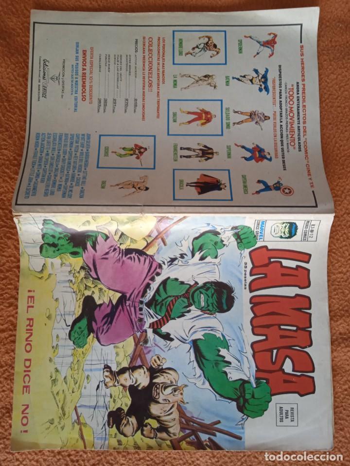 Cómics: LA MASA V3 NUMERO 12 MUNDI-COMICS - Foto 2 - 268031584