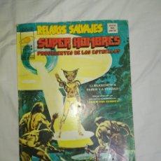Cómics: RELATOS SALVAJES--V. 1--N°7-- SUPER HOMBRES PROCEDENTES DE LAS ESTRELLAS. MUNDIAL COMIC--1973--. Lote 268179434