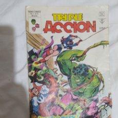 Cómics: TRIPLE ACCIÓN. --VOL. 1- N° 21-- MARVEL- VERTICE--1980-- EN EXCELENTE ESTADO DE CONSERVACIÓN--. Lote 268179654