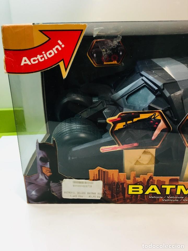 Cómics: Batman Begins, Batmovil, Batmobile, coche Batman, super heroes, Mattel, - Foto 3 - 268252544