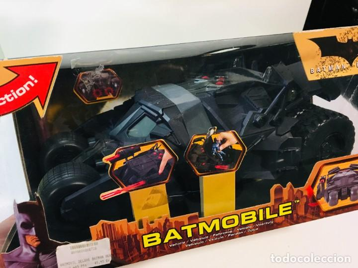 Cómics: Batman Begins, Batmovil, Batmobile, coche Batman, super heroes, Mattel, - Foto 5 - 268252544