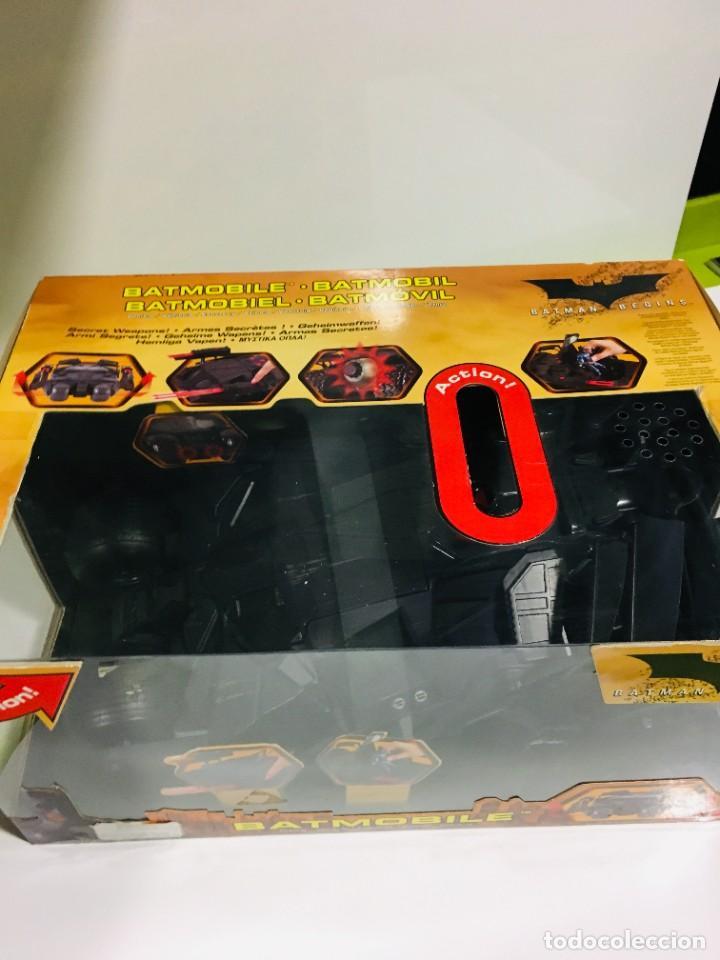 Cómics: Batman Begins, Batmovil, Batmobile, coche Batman, super heroes, Mattel, - Foto 13 - 268252544