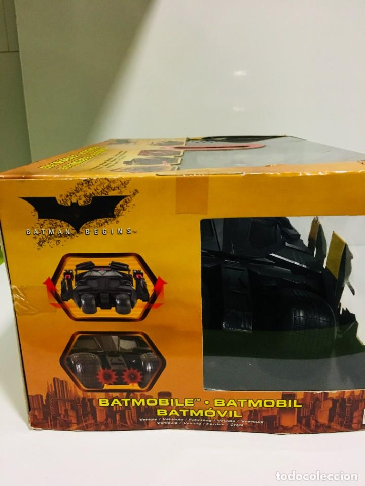 Cómics: Batman Begins, Batmovil, Batmobile, coche Batman, super heroes, Mattel, - Foto 27 - 268252544