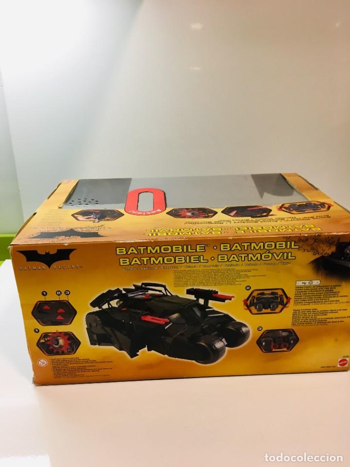 Cómics: Batman Begins, Batmovil, Batmobile, coche Batman, super heroes, Mattel, - Foto 30 - 268252544