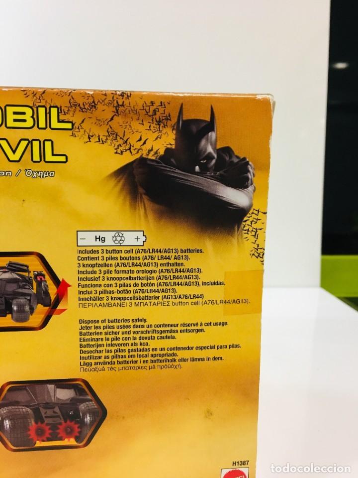 Cómics: Batman Begins, Batmovil, Batmobile, coche Batman, super heroes, Mattel, - Foto 34 - 268252544