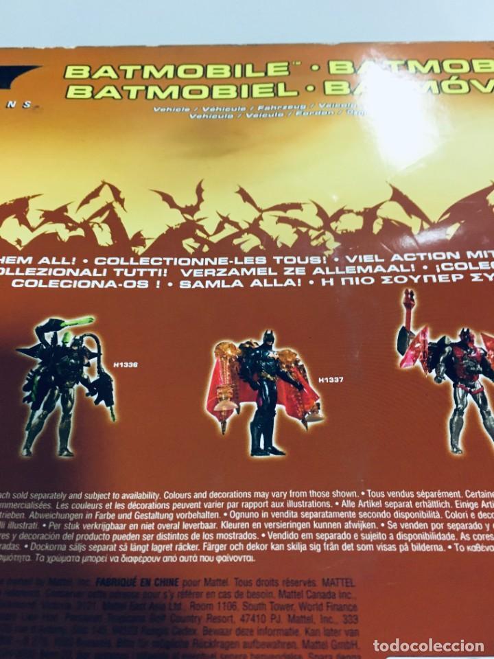 Cómics: Batman Begins, Batmovil, Batmobile, coche Batman, super heroes, Mattel, - Foto 45 - 268252544