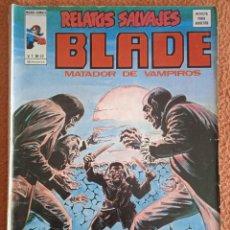 Cómics: RELATOS SALVAJES, BLADE V 1 Nº 32: LA NOCHE QUE MURIO JOSIE HARPER - ED. VERTICE, MUNDI COMICS 1976. Lote 268278299