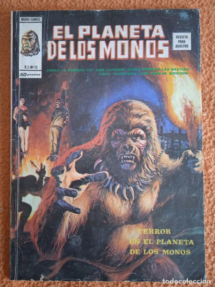 EL PLANETA DE LOS MONOS VOL.2 Nº 13. TERROR EN EL PLANETA DE LOS MONOS (Tebeos y Comics - Vértice - Otros)