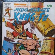 Cómics: DESCATALOGADO-VÉRTICE RELATOS SALVAJES JUDO KARATE KUNG FU VOL2 #4-SHANG CHI-VFN-BOLSA & BACKBOARD. Lote 268293379