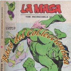 Cómics: LA MASA, EDITORIAL VERTICE, VOL. 1, N. 29, EN LA FRONTERA DE LA MUERTE.. Lote 268307679