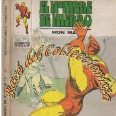 Cómics: EL HOMBRE DE HIERRO, EDITORIAL VERTICE, VOL. 1, N. 32, EL LATIGO DE LA MUERTE. Lote 268310899