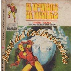 Cómics: EL HOMBRE DE HIERRO, EDITORIAL VERTICE, VOL. 1, N. 22, LAGRIMAS POR UNA PESADILLA. Lote 268311584