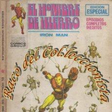 Cómics: EL HOMBRE DE HIERRO, EDITORIAL VERTICE, VOL. 1, N. 15, EL SEÑOR DE LOS ESPIAS.. Lote 268311974