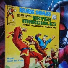 Cómics: MUY BUEN ESTADO RELATOS SALVAJES 3 ARTES MARCIALES MUNDI COMICS EDICIONES VERTICE. Lote 268409359