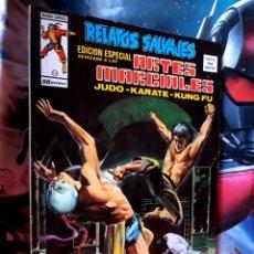 Cómics: EXCELENTE ESTADO RELATOS SALVAJES 14 ARTES MARCIALES MUNDI COMICS EDICIONES VERTICE. Lote 268410589