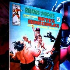Cómics: EXCELENTE ESTADO RELATOS SALVAJES 10 ARTES MARCIALES MUNDI COMICS EDICIONES VERTICE. Lote 268411909