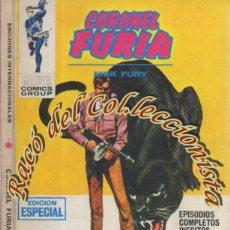 Cómics: CORONEL FURIA, EDITORIAL VERTICE, VOL. 1, N. 9, O FURIA O MUERTE. Lote 268425529