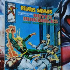 Cómics: EXCELENTE ESTADO RELATOS SALVAJES 6 ARTES MARCIALES MUNDI COMICS EDICIONES VERTICE. Lote 268571544
