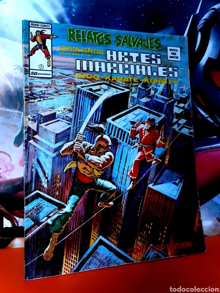 MUY BUEN ESTADO RELATOS SALVAJES 5 ARTES MARCIALES MUNDI COMICS EDICIONES VERTICE (Tebeos y Comics - Vértice - Relatos Salvajes)