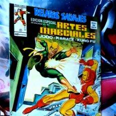 Cómics: EXCELENTE ESTADO RELATOS SALVAJES 21 ARTES MARCIALES MUNDI COMICS EDICIONES VERTICE. Lote 268571839