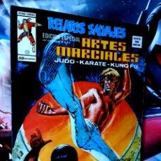 Cómics: EXCELENTE ESTADO RELATOS SALVAJES 17 ARTES MARCIALES MUNDI COMICS EDICIONES VERTICE. Lote 268572814