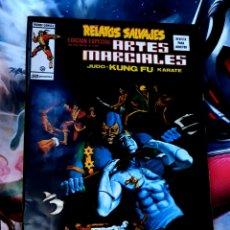 Cómics: EXCELENTE ESTADO RELATOS SALVAJES 9 ARTES MARCIALES MUNDI COMICS EDICIONES VERTICE. Lote 268576384