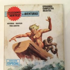 Cómics: SELECCIONES VERTICE DE AVENTURAS - TAMBORES DE LA SELVA Nº 30 (VERTICE TACO 1969). Lote 268775174