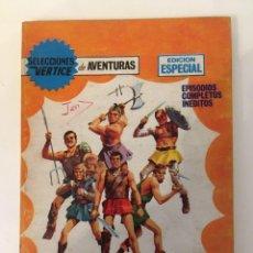 Cómics: SELECCIONES VERTICE DE AVENTURAS - GLADIADORES INVICTOS Nº 59 (VERTICE TACO 1969). Lote 268778989