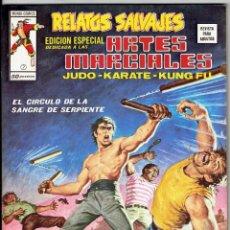 Cómics: RELATOS SALVAJES - ARTES MARCIALES VOL. 1 - Nº 7 EL CIRCULO DE LA SANGRE DE SERPIENTE ''BUEN ESTADO'. Lote 268844329