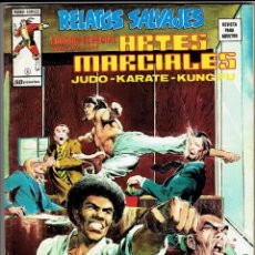 Cómics: RELATOS SALVAJES - ARTES MARCIALES VOL. 1 - Nº 8 UNA COMPETICIÓN DE LEALTAD ''BUEN ESTADO''. Lote 268844459