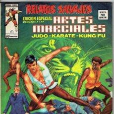 Cómics: RELATOS SALVAJES - ARTES MARCIALES VOL. 1 - Nº 9 SANGRE DEL DRAGON DORADO ''BUEN ESTADO''. Lote 268844629