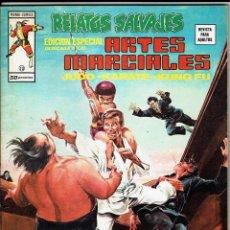 Cómics: RELATOS SALVAJES - ARTES MARCIALES VOL. 1 - Nº 10 EL DRAGON EN LAS SOMBRAS DORADAS ''BUEN ESTADO''. Lote 268844764