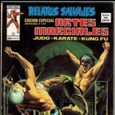 Cómics: RELATOS SALVAJES - ARTES MARCIALES VOL. 1 - Nº 14 - EL SECRETO DEL DRAGON ''BUEN ESTADO''. Lote 268844994