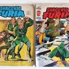 Cómics: SARGENTO FURIA V.2 NºS 23-24 ~ MARVEL / VÉRTICE (1973). Lote 268996159