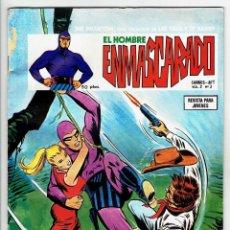 Cómics: EL HOMBRE ENMASCARADO VOL. 2 Nº 3 - LA MALDICIÓN - EL PASAJERO MISTERIOSO - VERTICE 1973. Lote 269208858