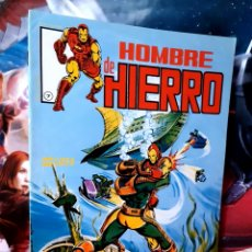 Cómics: CASI EXCELENTE ESTADO HOMBRE DE HIERRO 7 MUNDI COMICS LINEA SURCO VERTICE. Lote 269230838