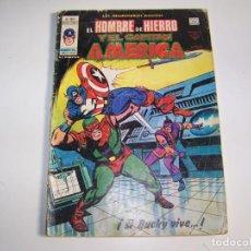 Cómics: VERTICE INSUPERABLES 17 HOMBRE DE HIERRO Y CAPITAN AMERICA. Lote 269283233