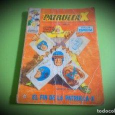 Cómics: PATRULLA X Nº 20 VERTICE -LEER DESCRIPCION. Lote 269284718