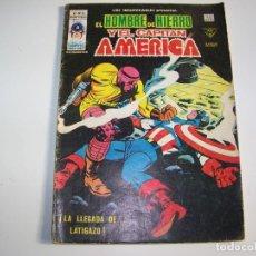 Cómics: VERTICE INSUPERABLES 16 HOMBRE DE HIERRO Y CAPITAN AMERICA. Lote 269290893