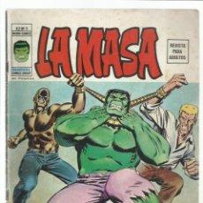 Cómics: LA MASA VOL. 2 5, 1974, VERTICE.. Lote 269388928